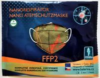 DĚTSKÝ respirátor Balerina S, FFP2, vzor 185, 1ks