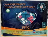DĚTSKÝ respirátor Balerina S, FFP2, vzor 56, 1ks