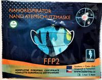 DĚTSKÝ respirátor Balerina S, FFP2, vzor 77, 1ks