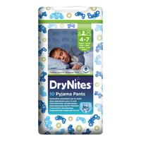 Huggies Dry Nites boys M 4-7 let (17-30kg) 10ks
