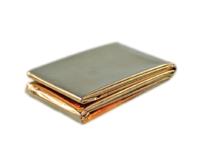 Fólie izotermická 160x210 cm zlato/stříbrná