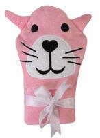 Osuška s kapucí Baby Matex Jimmy - pink panter