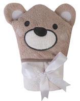 Osuška s kapucí Baby Matex Jimmy - medvídek