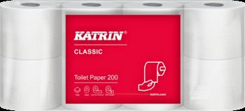 Toaletní papír Katrin, 2-vrstvý, bílý, bal.8ks