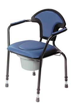 Křeslo toaletní nastavitelné OPEN modré  - 1