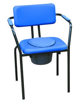 Křeslo toaletní New Club - modré - 1