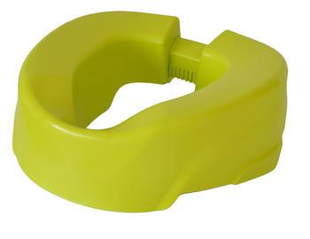 Nástavec na WC 10cm CLIP Up žlutý  - 1