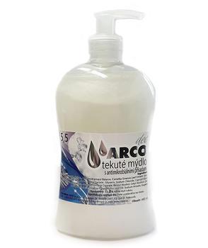 Antimikrobionální mýdlo Arco Deo s dávkovačem 480 ml