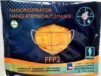DĚTSKÝ respirátor Balerina S, FFP2, vzor 247, 1ks  - 1