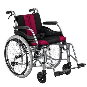 Invalidní vozík Timago WA C2600 48 cm / černo-bordó - 1