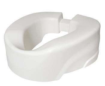 Nástavec na WC 10cm CLIP Up bílý  - 1
