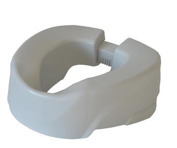 Nástavec na WC 10cm CLIP Up šedý  - 1
