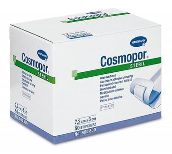 Cosmopor steril 7,2 x 5 cm, 50 ks