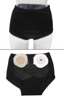 Dámské stomické prádlo XXL černá
