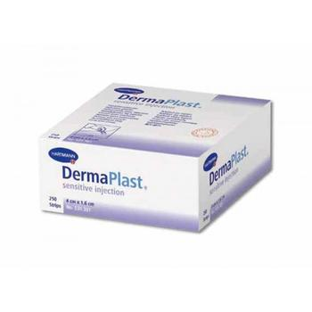 DermaPlast sensitive inj. 4 cm x 1,6 cm, 250 ks
