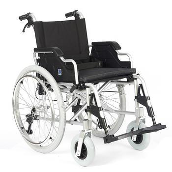 Invalidní vozík Timago FS 908 LJQ - 43 cm / černý / 100kg - 1