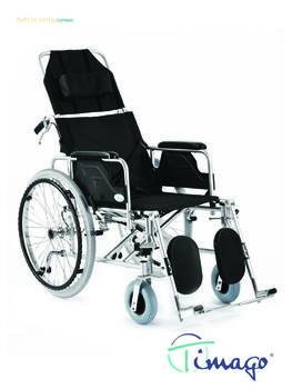 Invalidní vozík polohovací Timago FS 954 LGC,  - 1