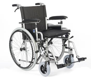 Invalidní vozík Timago H011/51 BD 51 cm s nafukovacími koly, nosnost 135kg - 1