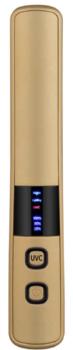 Ruční germicidní lampa, zlatá  - 1