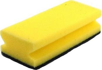 Houba Profi  7,5 x 9cm , žlutá tvarovaná / bal. po 3 ks