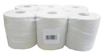 Toaletní papír Jumbo Katrin 200, 2-vrstvý, bílý, 12ks