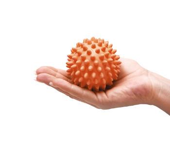 Masážní míček ježek Ø 8cm s reg.tvrdosti  - 1