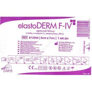 Elastoderm F I.V 6 cm x 7 cm 100 ks  - 1