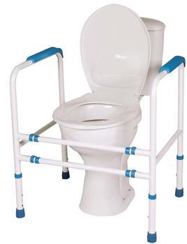 Podpěra na WC čtyřbodová  - 1