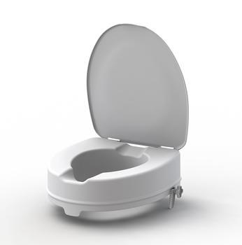 Nástavec na WC 10cm s poklopem  - 1