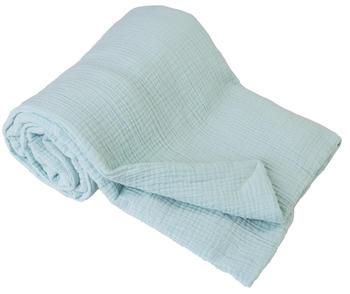 Dětská mušelínová deka BabyMatex - mint  - 1