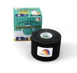 Tejpovací páska TEMTEX Classic 5cm x 5 m černá