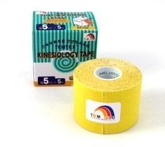 Tejpovací páska TEMTEX Classic 5cm x 5 m žlutá