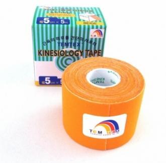 Tejpovací páska TEMTEX Classic 5cm x 5 m oranžová