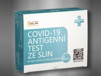 COVID-19Antigen Test Cassete SALIVA 6ks