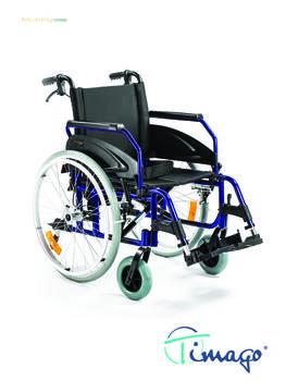 Invalidní vozík Timago WA 163-1  - 1