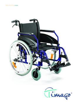 Invalidní vozík Timago WA 163-1 48cm, 120kg