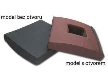 Antidekubitní sedák vaflovaný 45x45x9 s otvorem  - 1