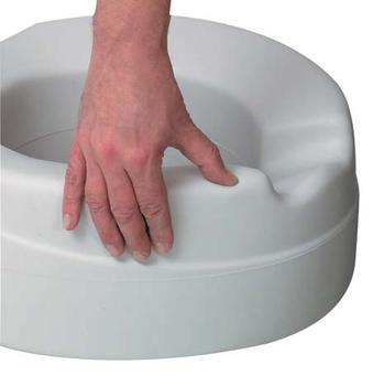 Nástavec na WC 11cm s poklopem Contact  - 2