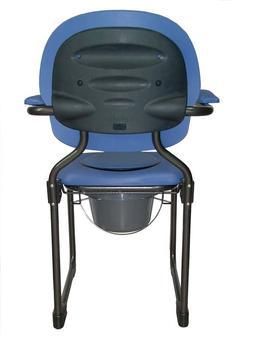 Křeslo toaletní skládací BEST UP modré  - 2