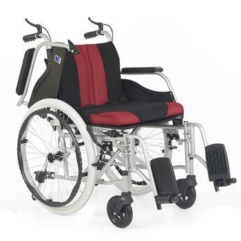 Invalidní vozík Timago WA C2600, černo-bordó  - 2