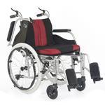 Invalidní vozík Timago WA C2600, černo-bordó - 2/4
