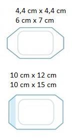 Elastoderm F 10 cm x 15 cm / 100 ks - 2