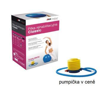 Míč cvičební CLASSIC Ø 75cm + pumpa  - 2