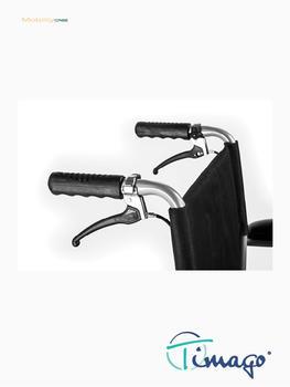 Invalidní vozík Timago FS 908 LJQ - 43 cm / černý / 100kg - 2