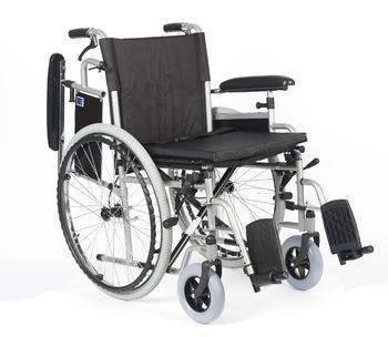 Invalidní vozík Timago H011/51 BD 51 cm s nafukovacími koly, nosnost 135kg - 2