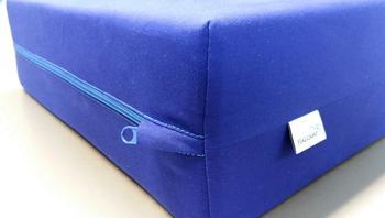 Rehabilitační kvádr sedací 40x40x12 bavlněný potah - 2