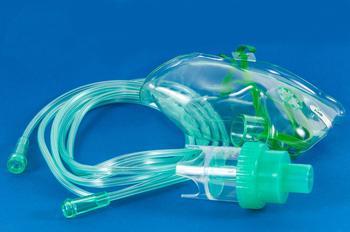Kyslíková maska s nebulizátorem a hadičkou 2,1 m  - 2