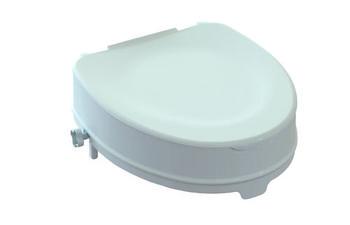 Nástavec na WC 15cm s poklopem  - 2