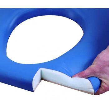 Křeslo toaletní nastavitelné OPEN modré  - 2