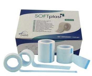 Softplast náplast netkaný textil 2,5cm x 9,14m 12ks - 2